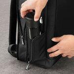 Бизнес рюкзак William Polo 187146 с USB-портом и отделением для ноутбука 17 дюймов