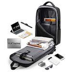 Противоударный рюкзак Fenro Armor FR5013 с USB-портом и кодовым замком