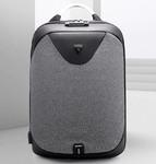 Рюкзак Антивор ARCTIC HUNTER B-00208 Серый с USB-портом и отделением для ноутбука 15.6 дюймов