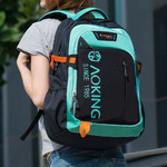 Рюкзак AOKING SN57605 Зелёный с отделением для ноутбука 15.6
