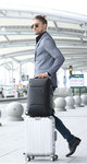 Рюкзак Bange BG-7216 Серый с кодовым замком и отделением для ноутбука 15.6