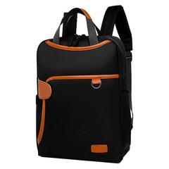 Женский рюкзак Bella Borsa Чёрный с отделением для ноутбука 14 дюймов