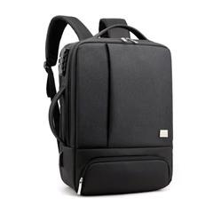 Рюкзак Feesly Чёрный с USB-портом и встроенным кодовым замком