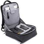 Рюкзак KAKA-805 Тёмно-серый с USB-портом и отделением для ноутбука 15.6