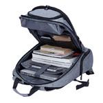 Рюкзак KALIDI Assistant Серый с USB портом и отделением для ноутбука 17.3 дюйма