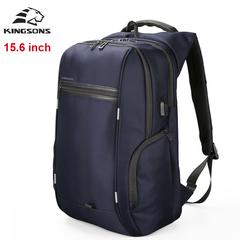 Рюкзак Kingsons KS3140W Синий с USB-портом и отделением для ноутбука 15.6 дюймов