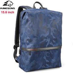 Рюкзак Kingsons ks3194w Синий с USB-портом и отделением для ноутбука 15.6