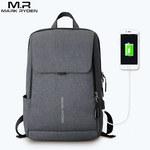 Рюкзак Mark Ryden MR8079 Тёмно-серый с USB-портом и отделением для ноутбука 15.6
