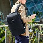 Сумка-рюкзак Ozuko 9225 с кодовым замком и отделением для ноутбука 15.6