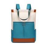 Женский рюкзак-сумка Funmardi B2066 Бело-синий