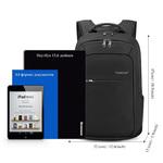 Рюкзак Tigernu T-B3090B Чёрный с USB-портом и отделением для ноутбука 15.6