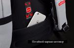 Рюкзак Tigernu T-B3142 серый с отделением для ноутбука 14 дюймов