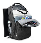 Рюкзак Tigernu T-B3242 Тёмно-серый с USB портом и отделением для ноутбука 15.6