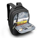 Рюкзак Tigernu T-B3259 Тёмно-серый с USB портом и отделением для ноутбука 15.6