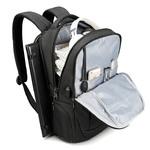 Рюкзак Tigernu T-B3503 Серый с USB портом и отделением для ноутбука 15.6