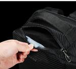 Рюкзак Tigernu T-B3655 Чёрный с USB-портом и отделением для ноутбука 15.6