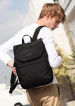 Рюкзак-сумка Tigernu T-B3869 Чёрный с USB-портом и RFID защитой