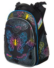 Школьный ортопедический ранец Hummingbird Teens T91 Neon Butterfly