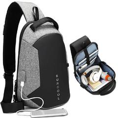 Однолямочный рюкзак EuroCool EC-1825 Large Серый