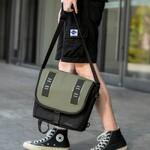 Однолямочная сумка Tigernu T-S8119 Тёмно-зелёная