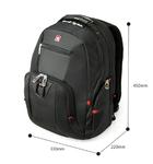 Рюкзак SWISSWIN SW0809 с отделением для ноутбука 15.6 дюймов