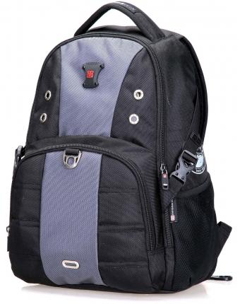 Рюкзак SWISSWIN SW9002 с отделением для ноутбука 15.6 дюймов