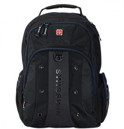 Рюкзак SWISSWIN SWBC007 с отделением для ноутбука 15.6 дюймов