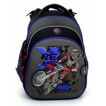Школьный ортопедический ранец Hummingbird Teens T75 Moto Rider