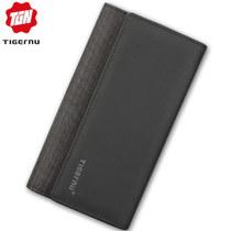 Кошелёк Tigernu T-S8080 Чёрно-коричневый
