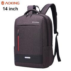 Рюкзак AOKING Milano Коричневый с отделением для ноутбука 14 дюймов