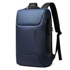 Рюкзак Bange BG-7216 Синий с кодовым замком и отделением для ноутбука 15.6