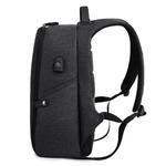 Рюкзак Антивор KAKA-806 Чёрный с USB портом и отделением для ноутбука 15.6