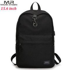 Рюкзак Mark Ryden MR5968 Чёрный с USB-портом и отделением для ноутбука 15.6