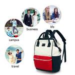 Рюкзак-сумка Suissewin SN17117 Красно-бело-синий