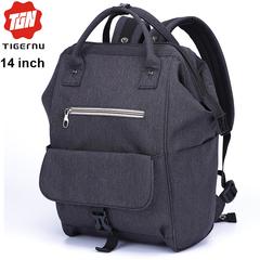 Рюкзак-сумка Tigernu T-B3184 Чёрно-серый с отделением для ноутбука 14 дюймов