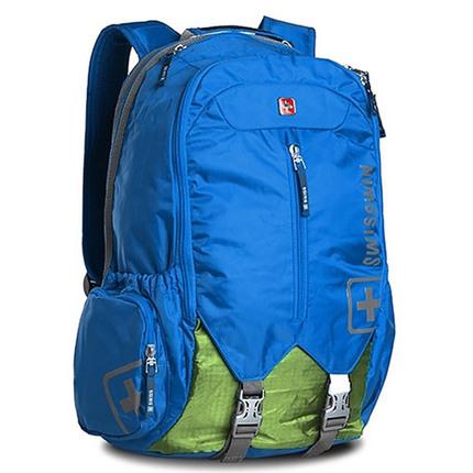 Рюкзак Swisswin sw9176 Sky Blue с отделением для ноутбука 15.6