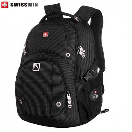 Рюкзак SWISSWIN SW9217N с отделением для ноутбука 15.6 дюймов