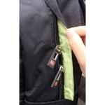 Рюкзак SWISSWIN SWC0009 Light Green с отделением для ноутбука 15.6 дюймов