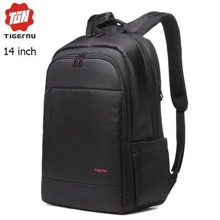 Рюкзак Tigernu T-B3142 чёрный с отделением для ноутбука 14 дюймов