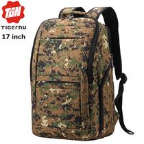 Рюкзак Tigernu T-B3152 Хаки с отделением для ноутбука 17 дюймов