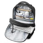 Рюкзак Tigernu T-B3220 Тёмно-серый с USB портом и отделением для ноутбука 15.6