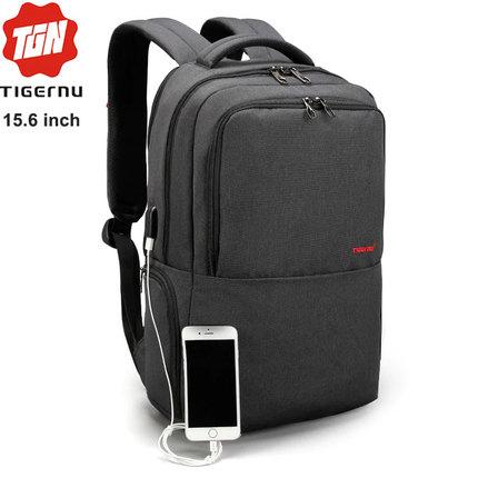 Рюкзак Tigernu T-B3259 Чёрный с USB портом и отделением для ноутбука 15.6