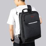 Рюкзак Tigernu T-B3305 Тёмно-серый с отделением для ноутбука 14 дюймов