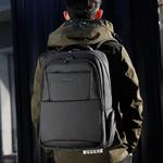 Рюкзак Tigernu T-B3515 Серый с USB портом и отделением для ноутбука 15.6 дюймов