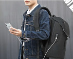Рюкзак Tigernu T-B3621A с USB-портом и отделением для ноутбука 15.6