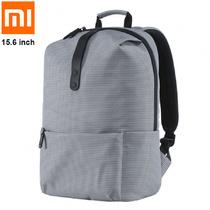 Рюкзак Xiaomi College Серый с отделением для ноутбука 15.6 дюймов