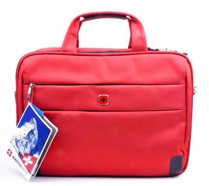 Сумка Swisswin sw8917 Red для ноутбука 15.6