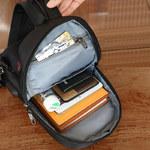 Сумка-рюкзак Tigernu T-S8089 Чёрная с USB-портом