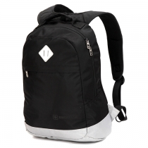 Рюкзак Swisswin swk2002 black с отделением для ноутбука 15.6 дюймов