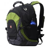 Рюкзак SWISSWIN sw9663 Green с отделением для ноутбука 15.6 дюймов